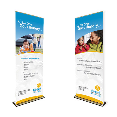 Foodbank of Waterloo Region Retractable Banners