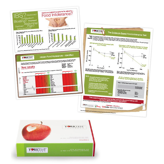 Yorktest Packaging and Report Design