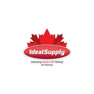 Ideal Supply Canada 150 Logo