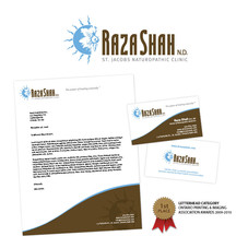 Raza Shah Corporate Identity Package