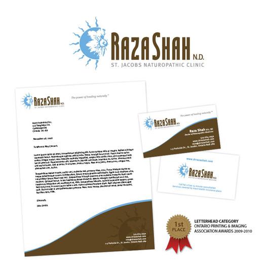 Raza Shah Corporate Identity Package