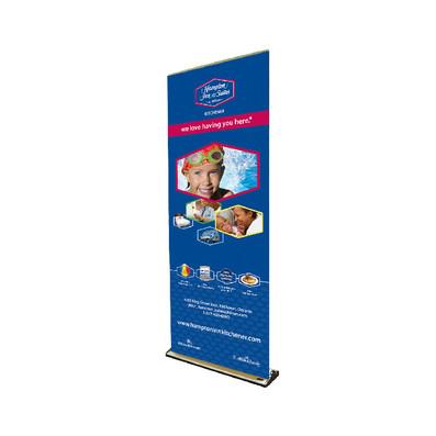 Hamptom Inn & Suites Retractable Banner