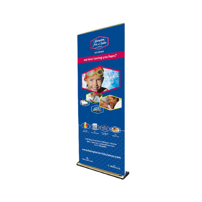 Hamptom Inn & Suites Retractable Banner