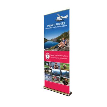 Prince Rupert Schoolboard Retractable Banner