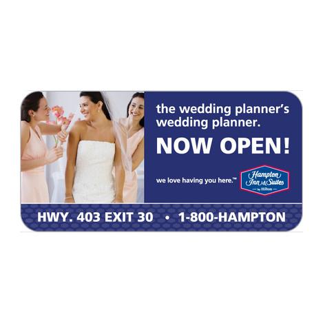 Hampton Inn & Suites Highway Billboard
