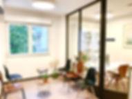 Salle d'attente ostéopathe
