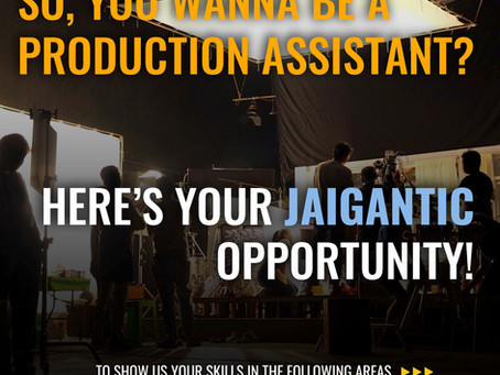 Jaigantic Opportunity!  Want to join the Jaigantic Team?