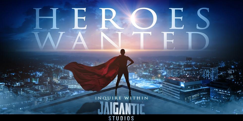 Jaigantic Studios Presents :  The Heroes Hangout