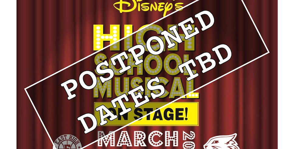 Saturday 7pm Disney's High School Musical on Stage