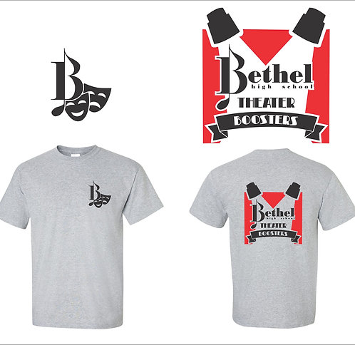 BHS Theater Boosters t-shirt