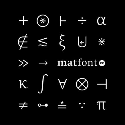 Matfont R&D