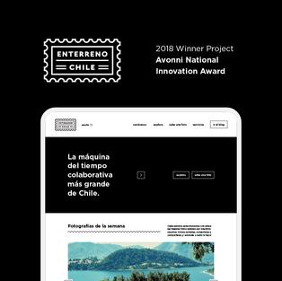 Enterreno Chile Web Platform