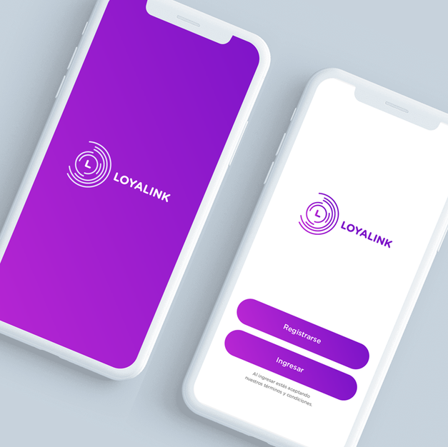 Loyalink App UX/UI