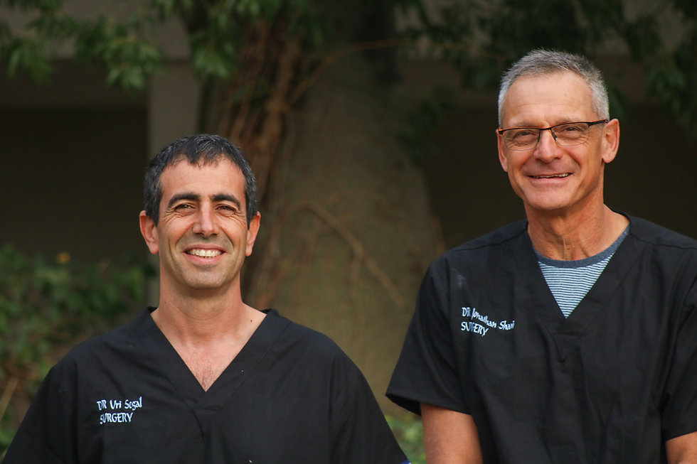 DR Uri Segal and Dr Jonathan Shani
