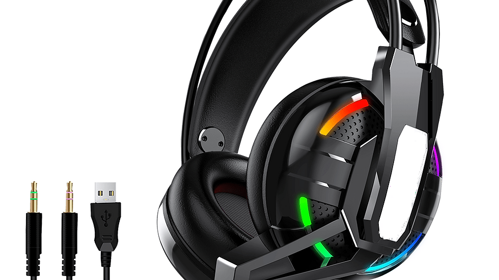 H630 RGB Gaming Headset Wired