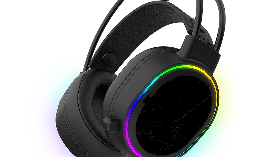 H1000 Wired Gaming Headset with Mic & RGB Light