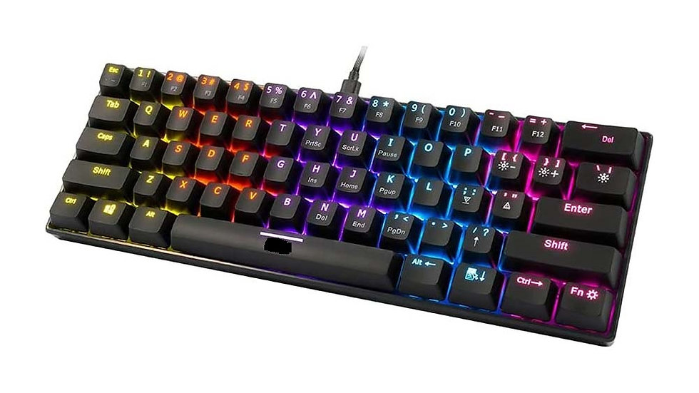 MK1000 Wired TKL Mechanical Gaming Keyboard with Multicolour LED