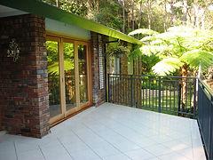 St Ives Tiled Deck
