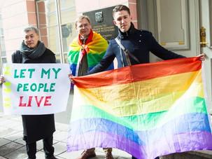 Eestlased väljendasid solidaarsust Tšetšeenia geikogukonnaga