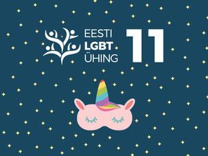 Eesti LGBT Ühingu uus hooaeg: noored, haridus, ajalugu ja pride