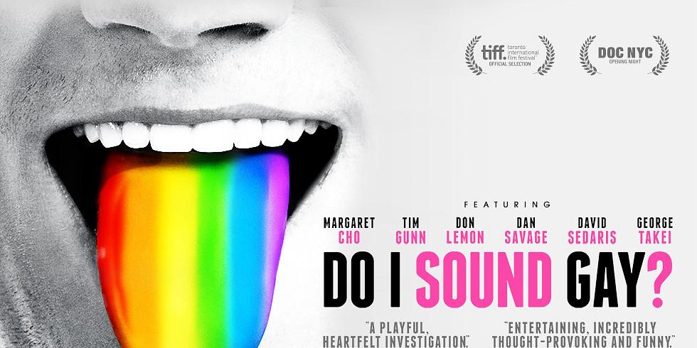 Filmiõhtu: Do I Sound Gay?