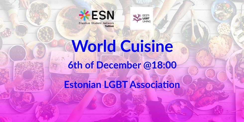 LGBT Chill Nights: World Cuisine Edition
