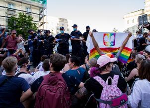 В Таллинне выражают поддержку польскому ЛГБТ + сообществу