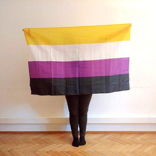 Suur mittebinaarsuse lipp