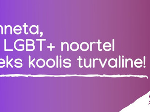 Anneta, et LGBT+ noortel oleks koolis turvaline!