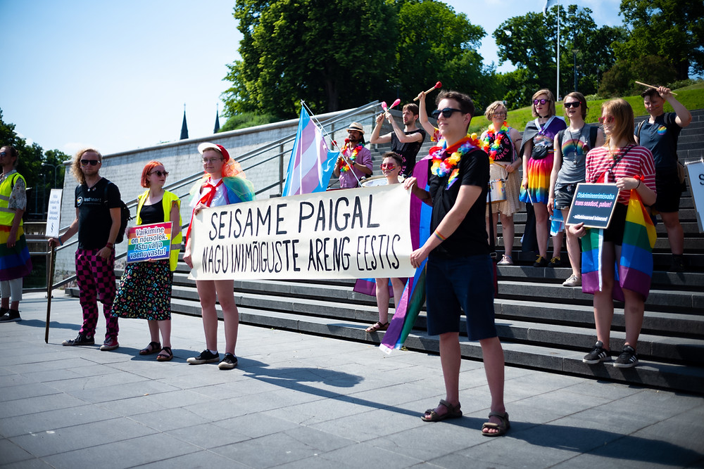 Baltic Pride 2020 demonstration