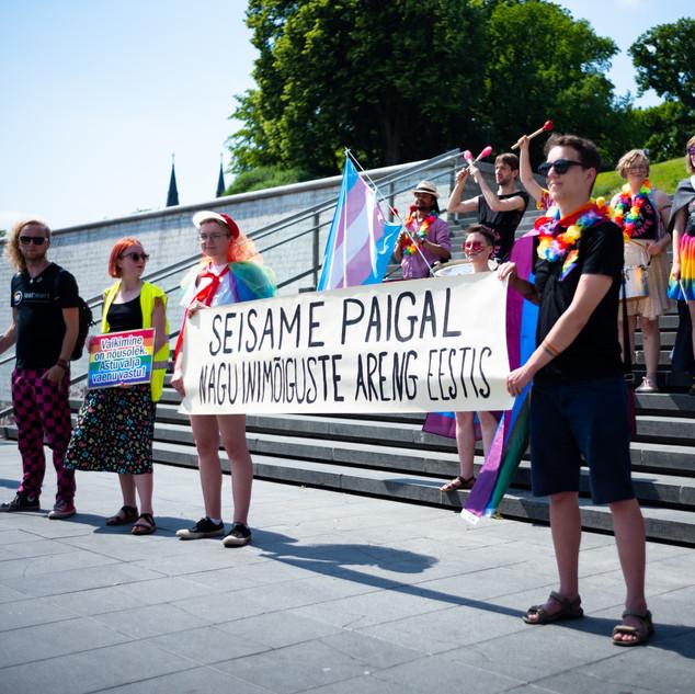 Baltic Pride 2020 aktsioon