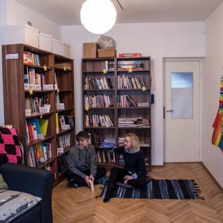 Raamatukogu ja hubatuba