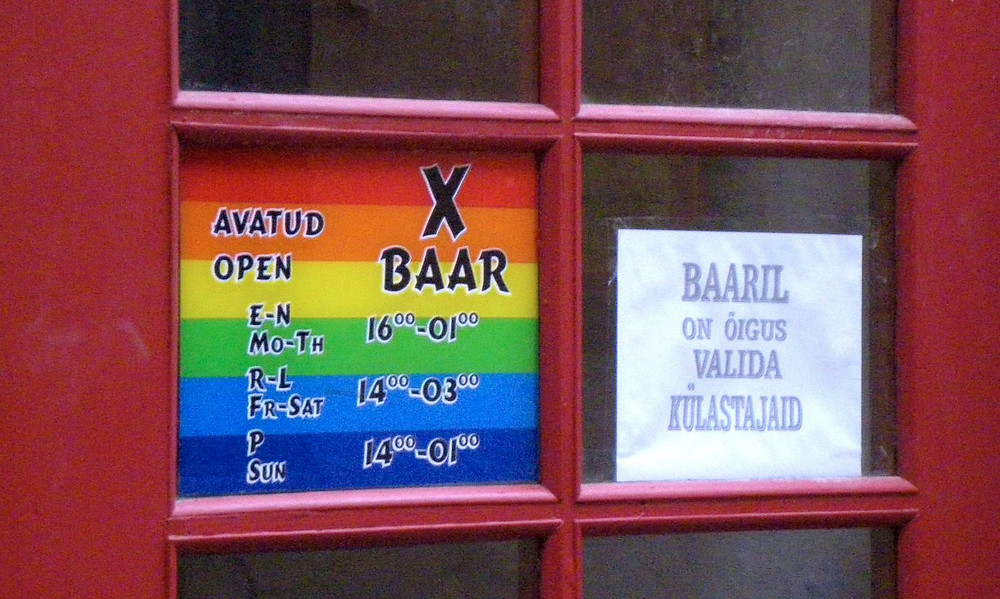 X-baar Sauna tänaval