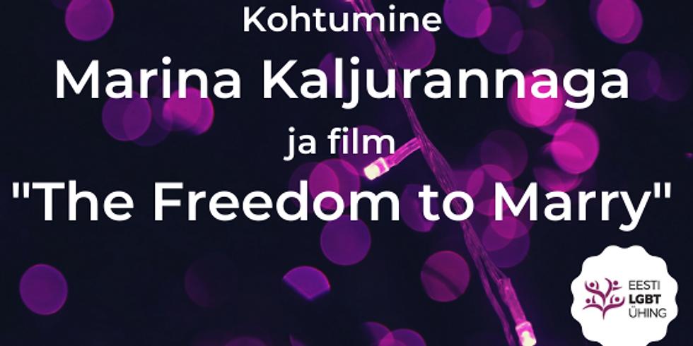 Filmiõhtu: Kohtumine Marina Kaljurannaga