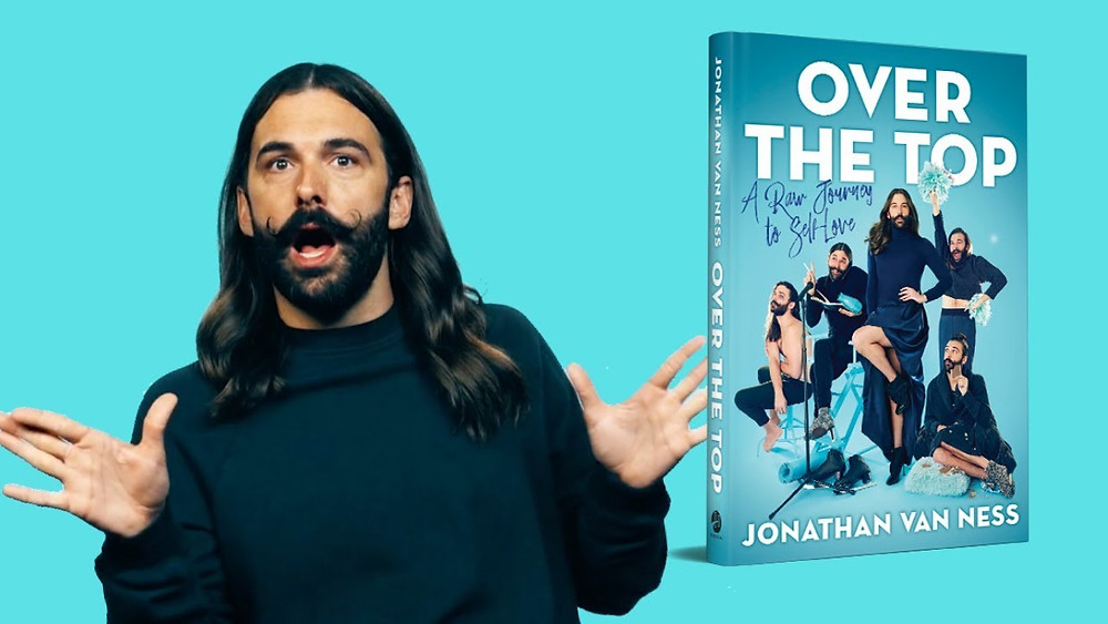 "Jonathan van Ness ja tema raamat ""Over the Top"""