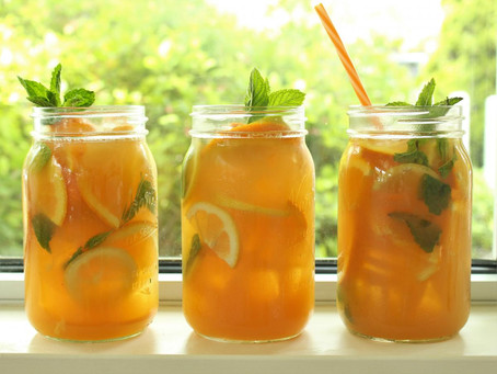 Rooibos Iced Tea Summer Festive Recipe