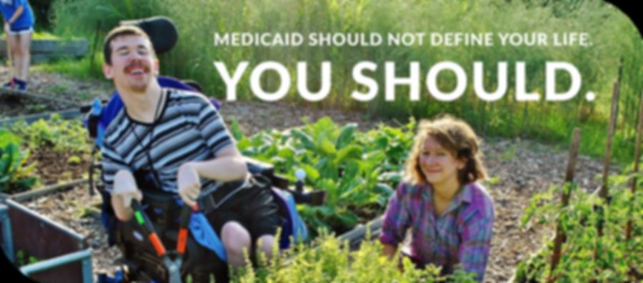 Mediciad should not define your life. You should.