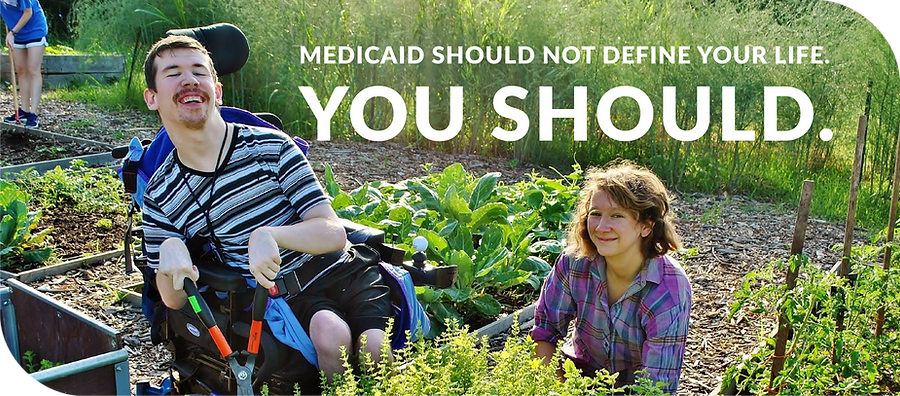 Mediciad should not define your life. You should.