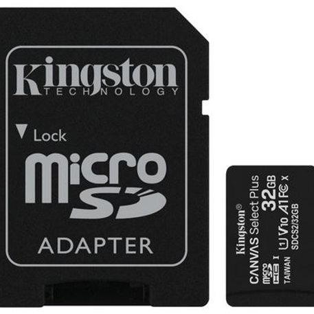 Carte micro SD / SD Kingston 64Go