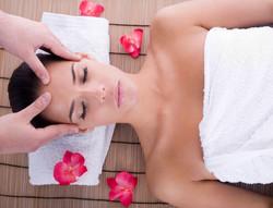 massage face