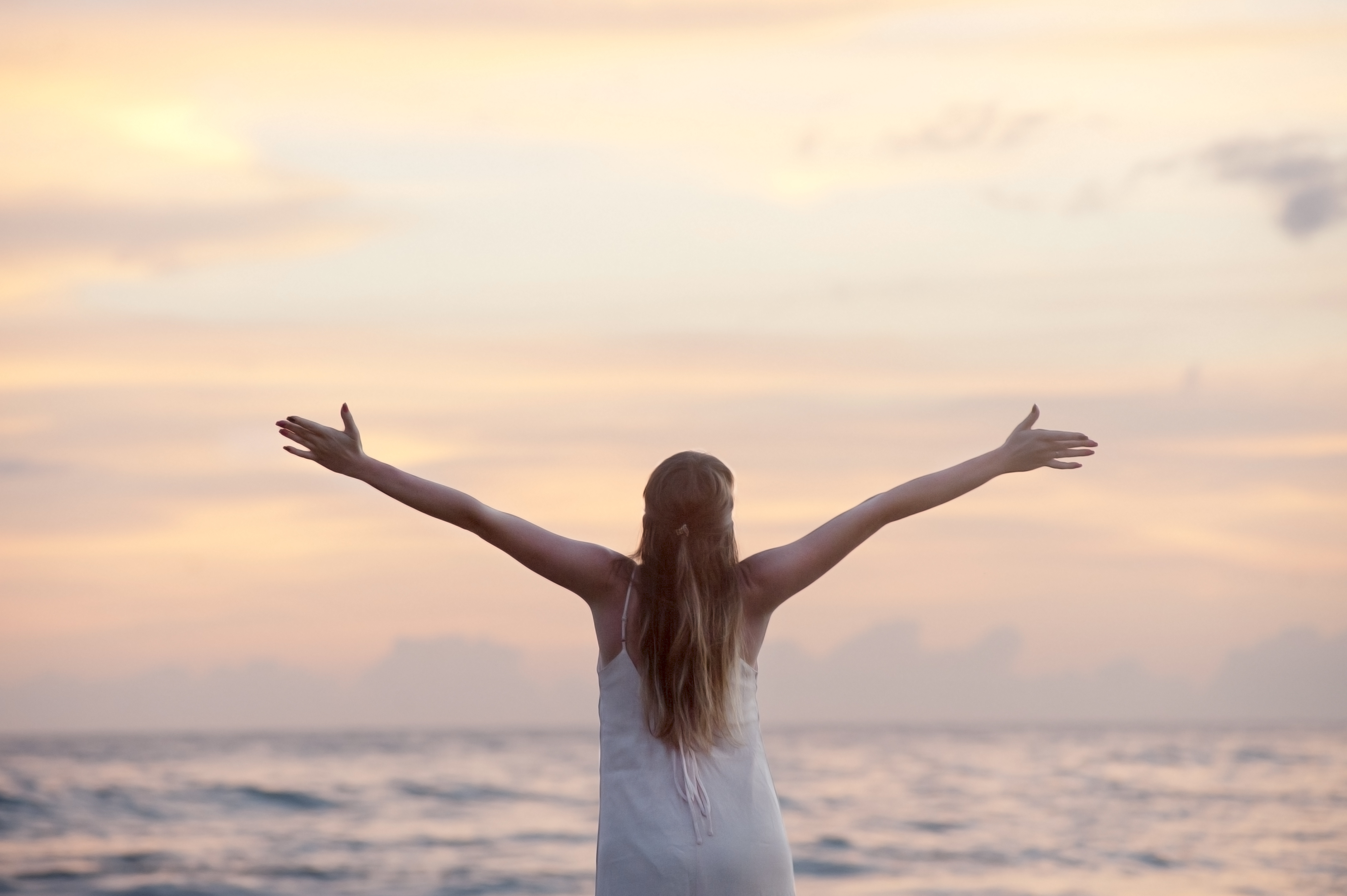 woman at beach pexels-photo-free