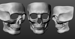 Custom DJ Skull Mask