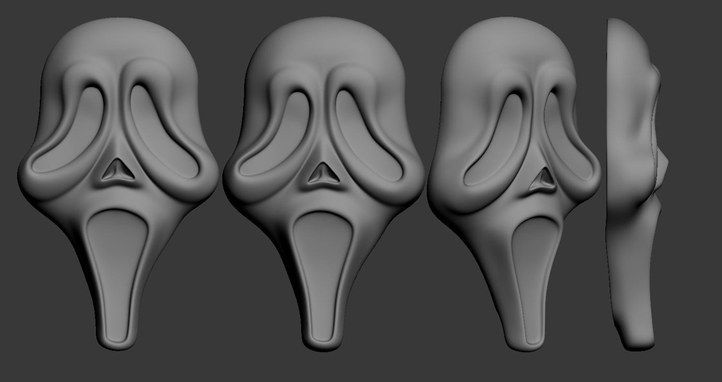 KNB Scream Design Replica