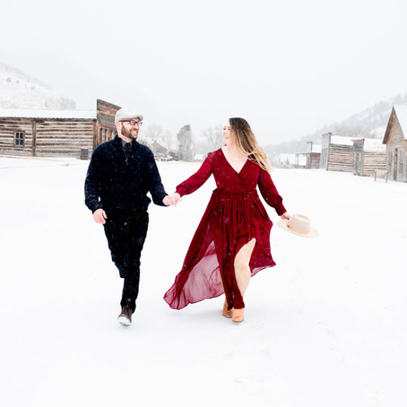 Engagements in a Ghost Town? YES PLEASE
