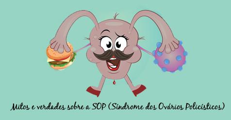 ilustracao sindrome dos ovarios policisticos