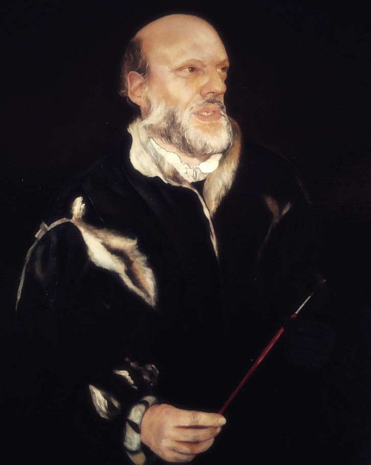 """Portrait of tha painter David Petri"""