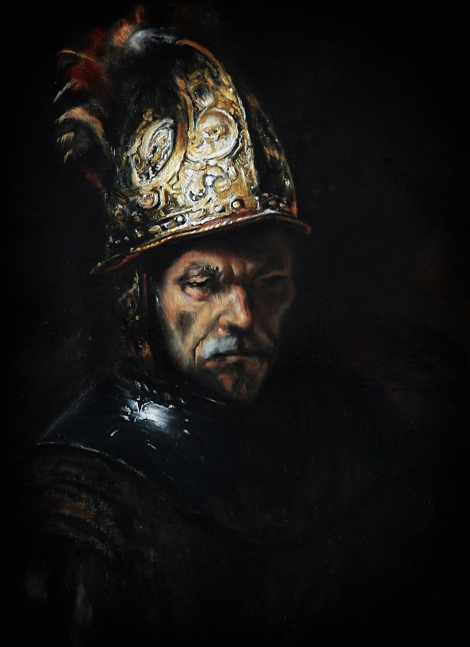 """""""Man with a golden helmet"""""""