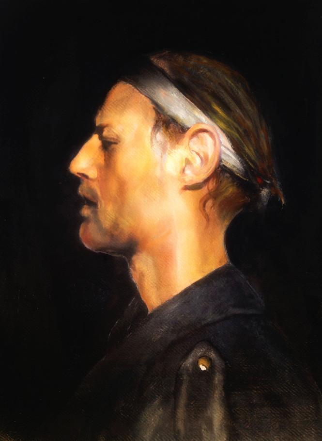 """Black selfportrait"""