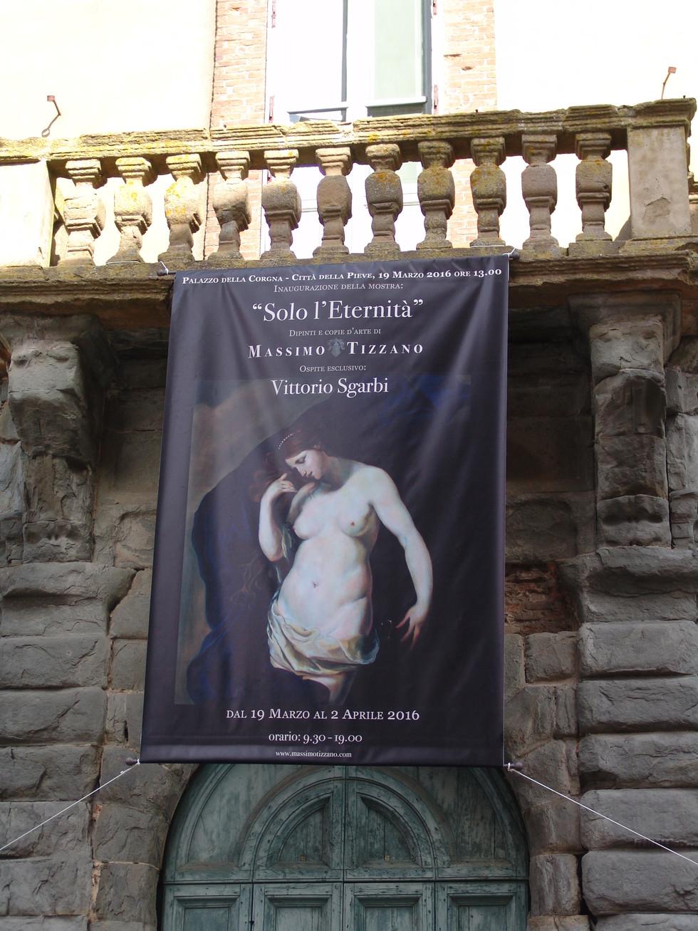 Massimo Tizzano espone a Città della Pieve