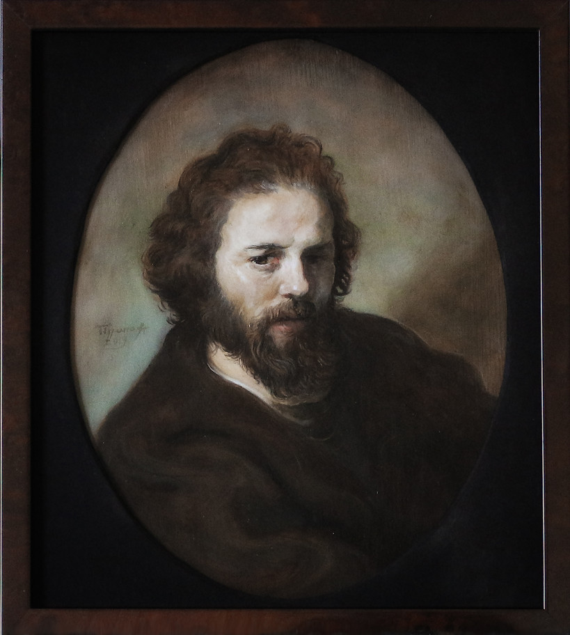 """Portrait of a bearded man"""